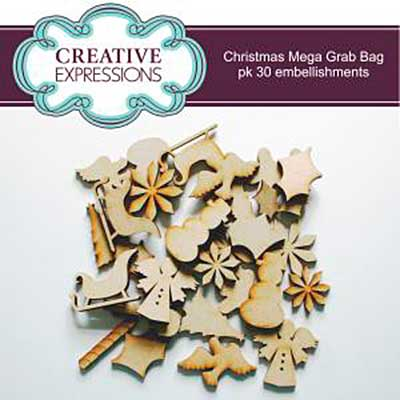 Christmas Mega Grab Bag pk of 30 MDF