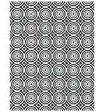 CE Embossing Folder  5.75 x 7.5 Circle Illusion