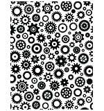 CE Embossing Folder  5.75 x 7.5 Cogs & Gears