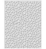 CE Embossing Folder 3D 5.75 x 7.5 Bubble Burst