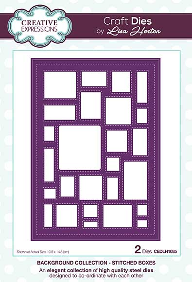 SO: Background Collection Stitched Boxes Craft Die
