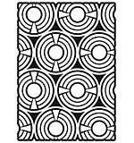 Creative Expressions A5 Stencil Geometric Circles