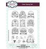 Willowby Woods - Fairy Doors SET B (A5 Clear Stamp Set)