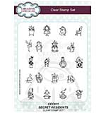 Willowby Woods - Secret Residents A5 Clear Stamp Set