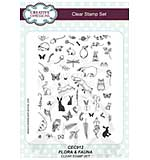 Willowby Woods - Flora and Fauna A5 Clear Stamp Set