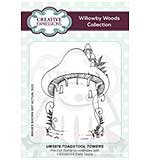 SO: Willowby Woods - Toadstool Towers A6 Pre Cut Rubber Stamp