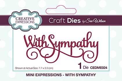 Mini Expressions Collection With Sympathy