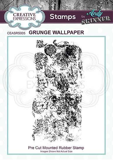 CE Rubber Stamp by Andy Skinner Grunge Wallpaper