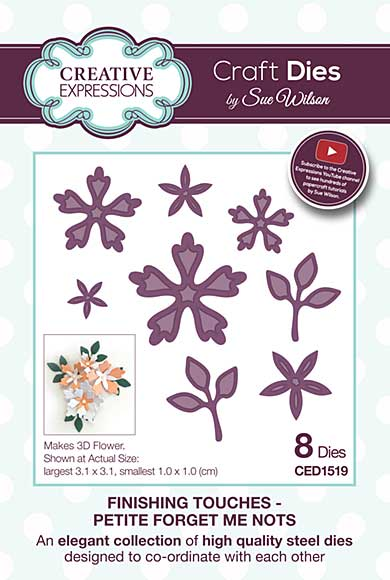 Finishing Touches Collection Petite Forget Me Nots