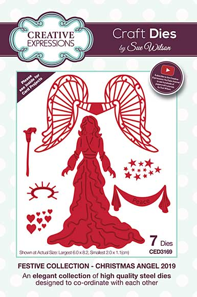 Festive Collection Christmas Angel 2019 Craft Die
