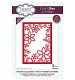 Festive Collection Pretty Poinsettia Frame