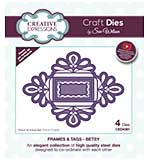 Frames and Tags Collection Betsy Craft Die