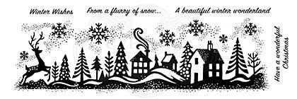 SO: Woodware Clear Singles Winter Wonderland