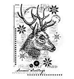 Woodware Clear Singles Vintage Deer