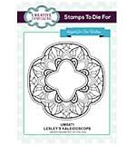 Lesley's Kaleidoscope Pre Cut Stamp