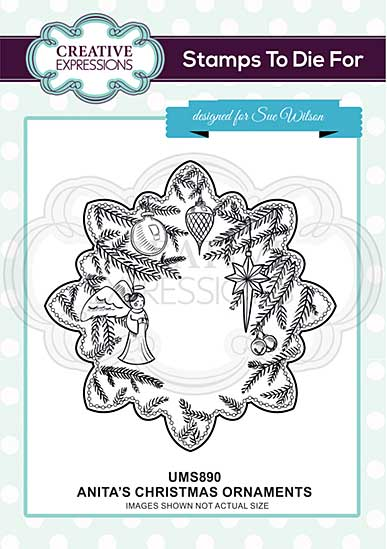 Anita\'s Ornaments Pre cut Stamp