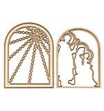 Spellbinder Die Nativity Layering Set