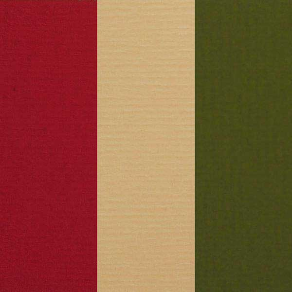 Feltmark Textured Card Mix - Christmas Tones (9 Sheets, A4, 200gsm)