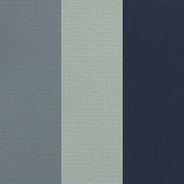 SO: Feltmark Textured Card Mix - Blue Tones (9 Sheets, A4, 200gsm)