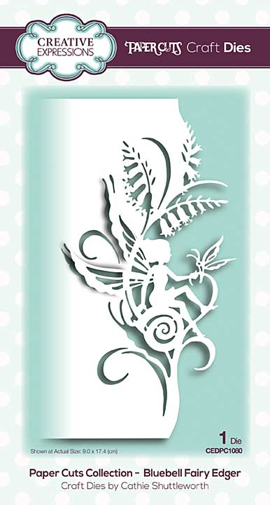 Paper Cuts Collection - Bluebell Fairy Edger Craft Die