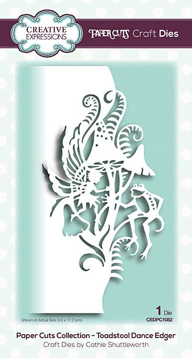 Paper Cuts Collection - Toadstool Dance Edger Craft Die