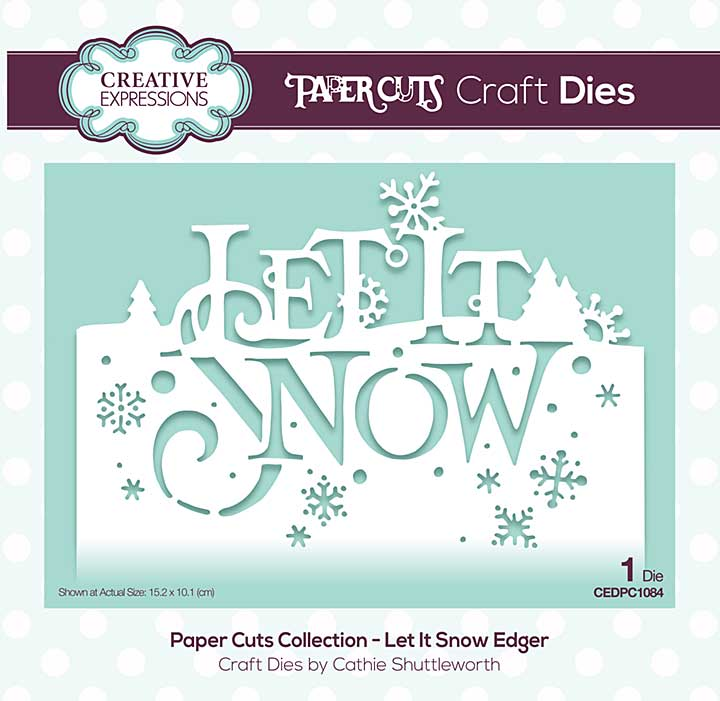 SO: Paper Cuts Collection - Let It Snow Craft Die