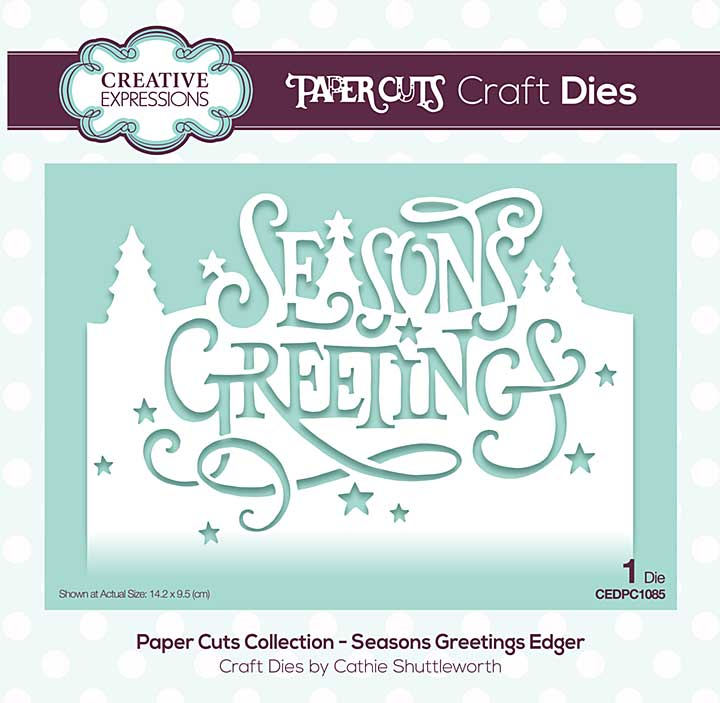 Paper Cuts Collection - Seasons Greetings Craft Die