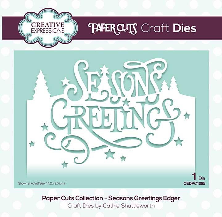 SO: Paper Cuts Collection - Seasons Greetings Craft Die