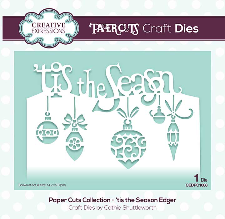 SO: Paper Cuts Collection - \'tis the Season Craft Die