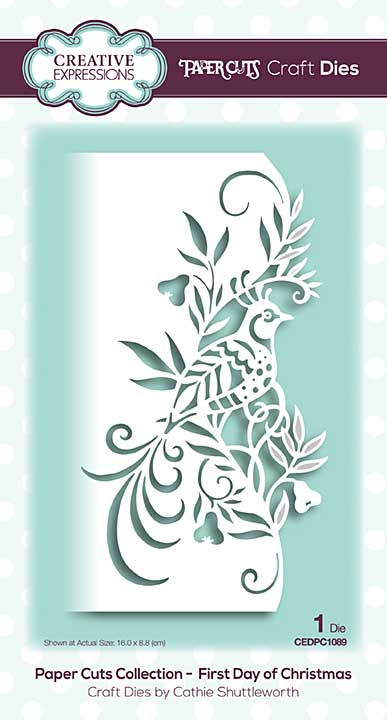 SO: Paper Cuts Collection - First Day of Christmas Craft Die