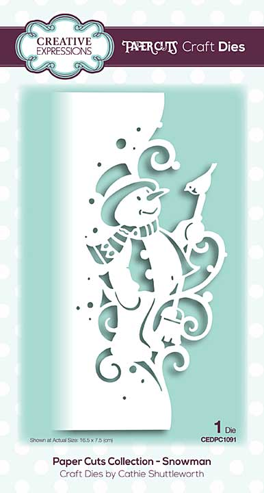 Paper Cuts Collection - Snowman Craft Die