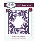 Frames and Tags Leafy Frame Craft Die