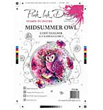 Pink Ink Designs Clear Stamp Midsummer Owl A5