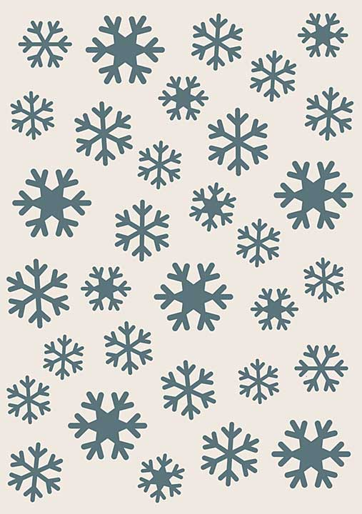 Sentimentally Yours Stencils - Snowflakes