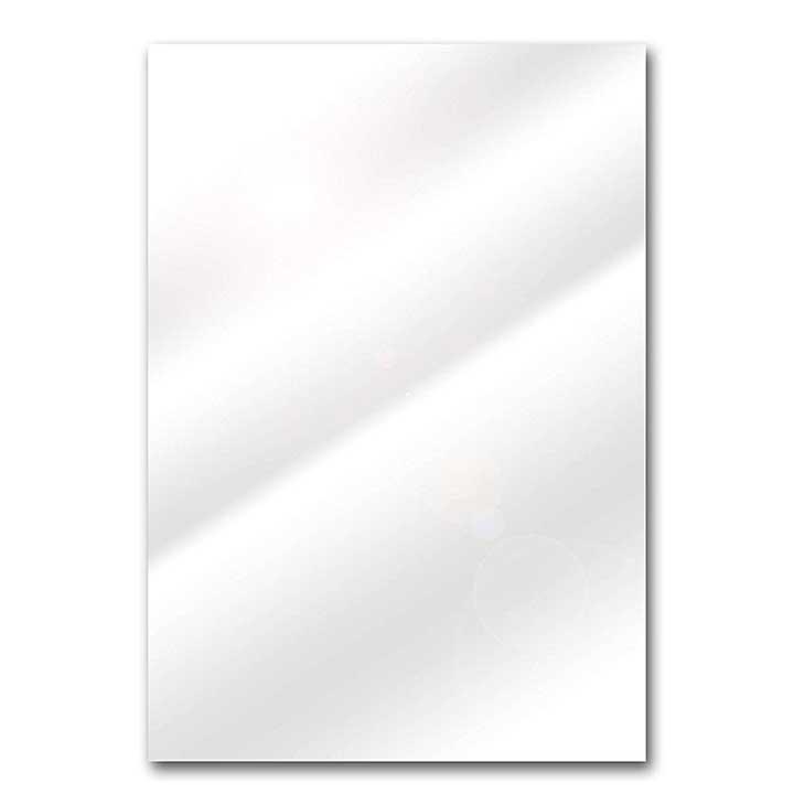 SO: Foundations A4 White Chrome Gloss Card pk 25
