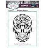 SO: CE Rubber Stamp by Andy Skinner Sugar Skull