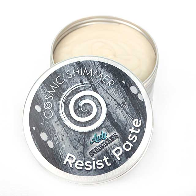 SO: Cosmic Shimmer Andy Skinner Resist Paste