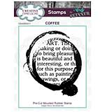 Rubber Stamp - Coffee Art by Andy Skinner