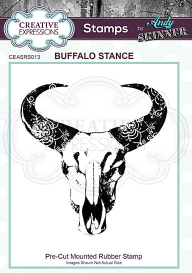 SO: Rubber Stamp - Buffalo Stance by Andy Skinner