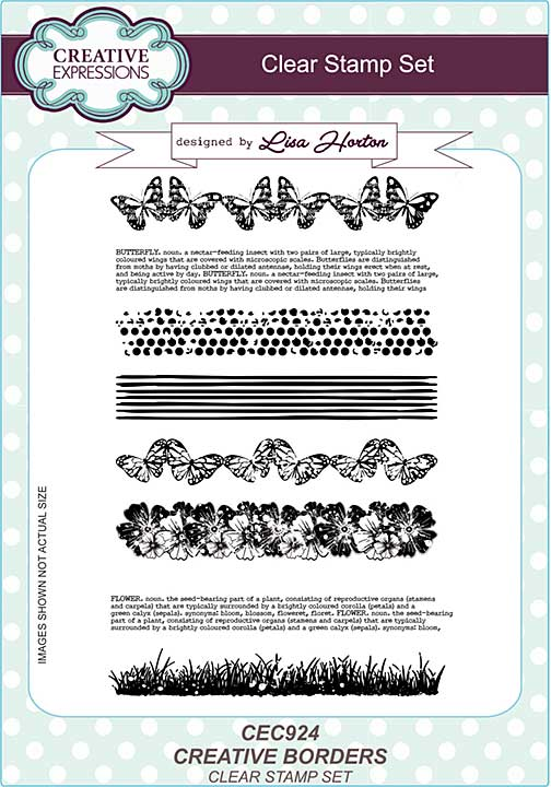Creative Borders A5 Clear Stamp Set