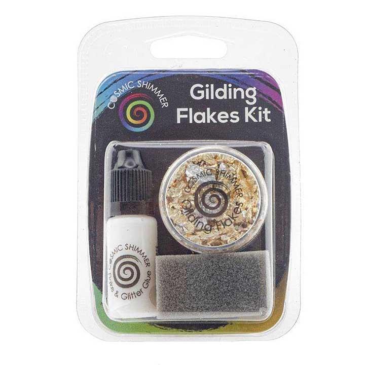 Cosmic Shimmer Gilding Flakes Kit Egyptian Gold