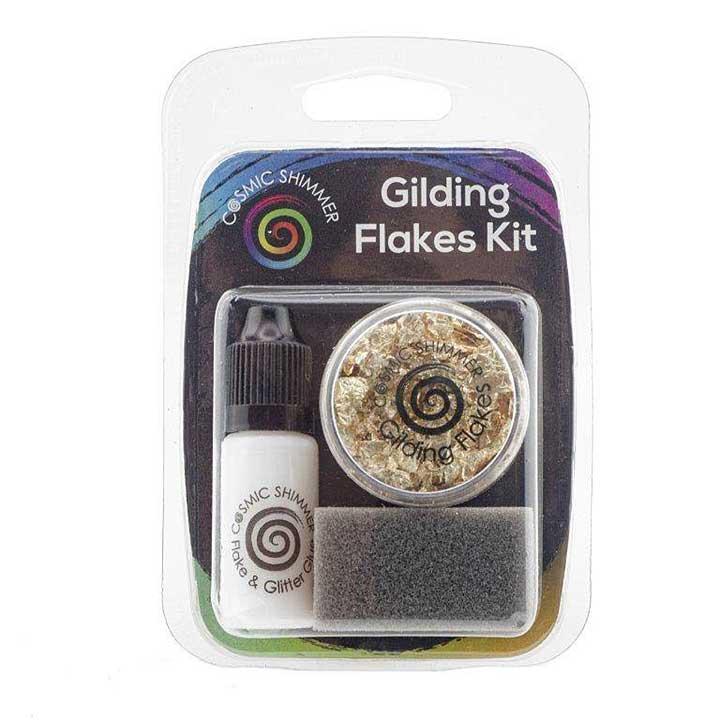 SO: Cosmic Shimmer Gilding Flakes Kit Golden Jewels