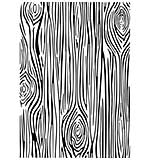 CE Embossing Folder 5 x 7 Skinny Woodgrain