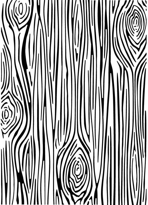 CE Embossing Folder 5 x 7 Skinny Woodgrain