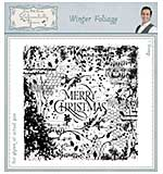 Winter Foliage Pre Cut Stamp Set