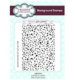 Snow Flurry A6 Background Stamp