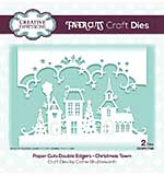 Creative Expressions Paper Cuts Christmas Town Double Edger Craft Die