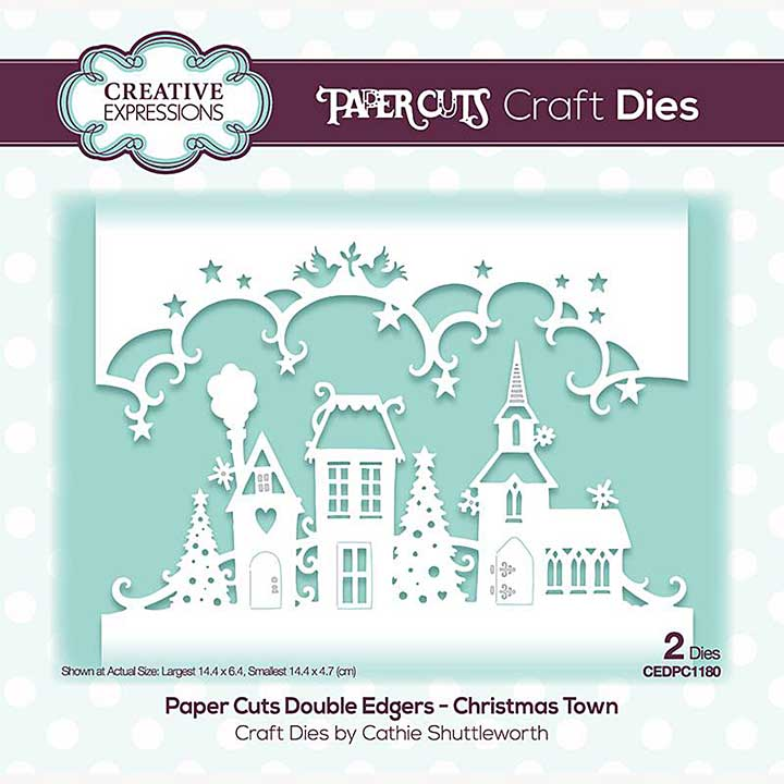 SO: Creative Expressions Paper Cuts Christmas Town Double Edger Craft Die