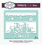 Creative Expressions Paper Cuts Santa.s Helpers Double Edger Craft Die
