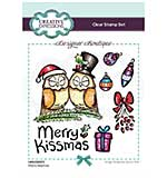 Creative Expressions Designer Boutique Collection Merry Kissmas A6 Clear Stamp Set
